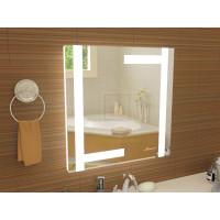Квадратное зеркало в ванную с подсветкой Витербо размером 800x800 мм
